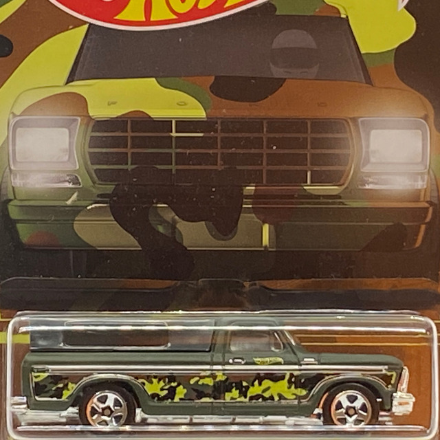 2016 HW Camouflage Series / '79 Ford Pickup / '79 フォード ピックアップ 【Walmart Exclusive】