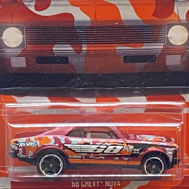 2016 HW Camouflage Series / '68 Chevy Nova / '68 シェビー ノヴァ 【Walmart Exclusive】