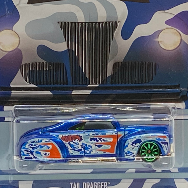 2016 HW Camouflage Series / Tail Dragger / テイル ドラッガー 【 Walmart Exclusive】