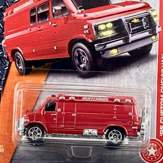 2017 MBX Heroic Rescue / '95 Custom Chevy Van / '95 カスタム シェビー バン