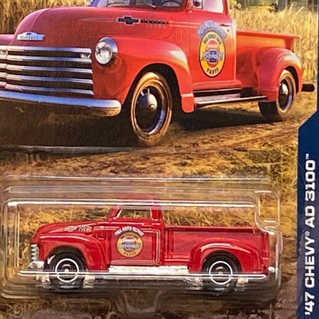 2018 MBX Chevrolet Trucks 100 Years / '47 Chevy AD 3100 / '47 シェビー AD 3100