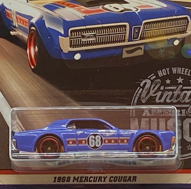 2017 Vintage American Muscle / 1968 Mercury Cougar / 1968 マーキュリー クーガー