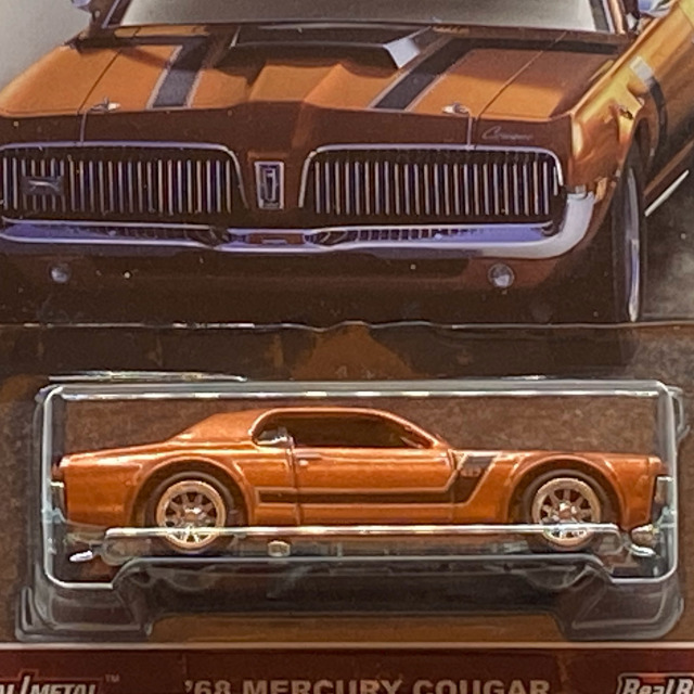 2017 HW Redliners / '68 Mercury Cougar / '68 マーキュリ ークーガー