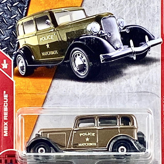 2018 MBX Rescue / '33 Plymouth PC Sedan / '33 プリマス PC セダン