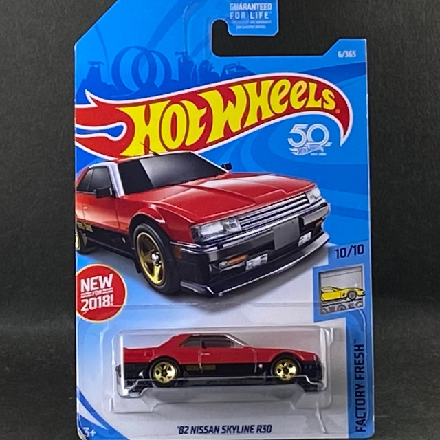 2018 HW Factory Fresh / 82 Nissan Skyline R30 / 82 ニッサン スカイライン R30