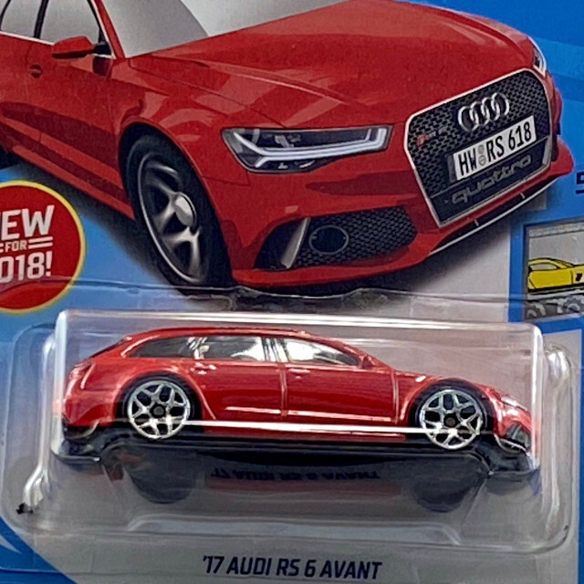 2018 Factory Fresh / '17 Audi RS 6 Avant / '17 アウディ RS 6 アバント