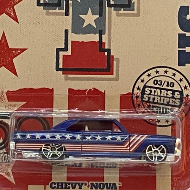 2018 50th Anniversary Stars & Stripes / Chevy Nova /  シェビー ノバ