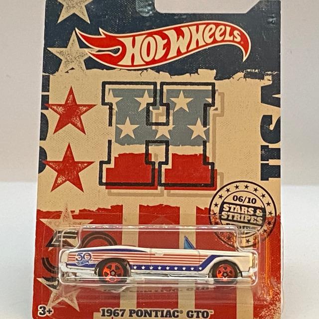 2018 50th Anniversary Stars & Stripes Collection / 1967 Pontiac GTO / 1967 ポンティアック GTO