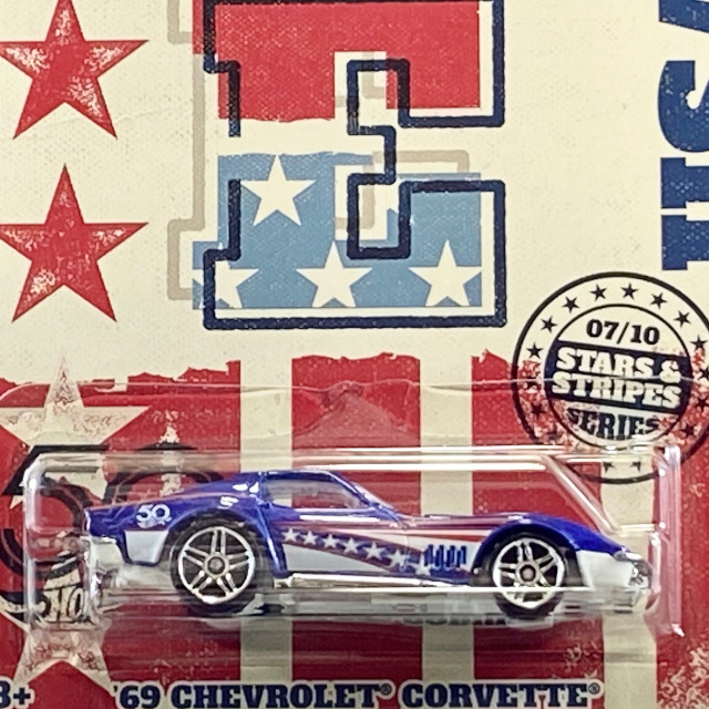 2018 50th Anniversary Stars & Stripes Series / '69 Chevrolet Corvette / '69 シボレー コルベット 【Walmart Exclusive】