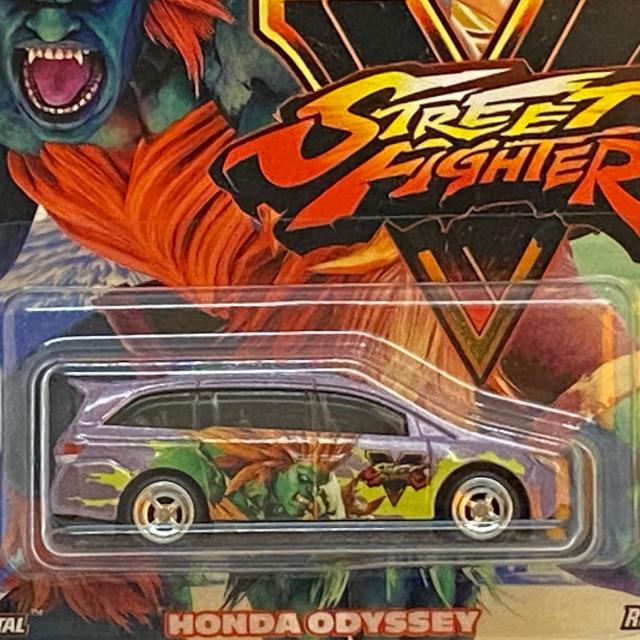 2018 Pop Culture Street Fighter V / Honda Odyssey / ホンダ オデッセイ
