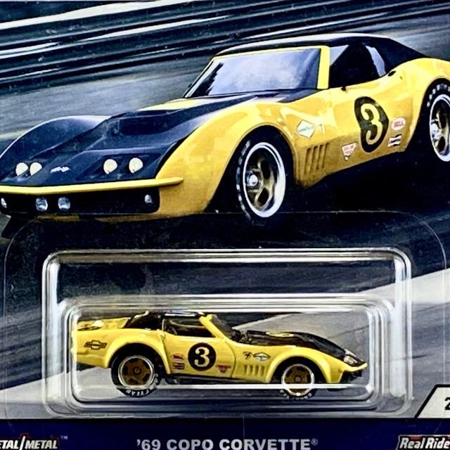 2018 Car Culture / '69 COPO Corvette - Yellow & Black / '69 コルベット Yellow & Black