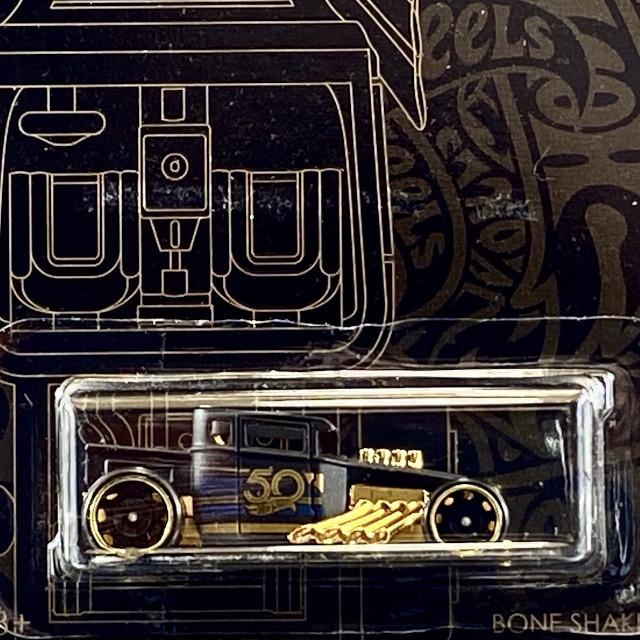 2018 50th Anniversary Black & Gold Collection / Bone Shaker / ボーン シェーカー