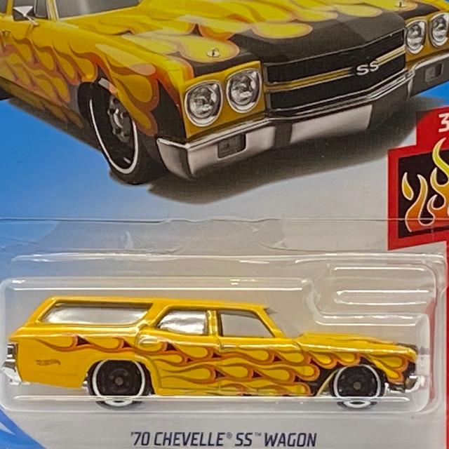 2019 HW Flames / '70 Chevelle SS Wagon / '70 シェベル SS ワゴン