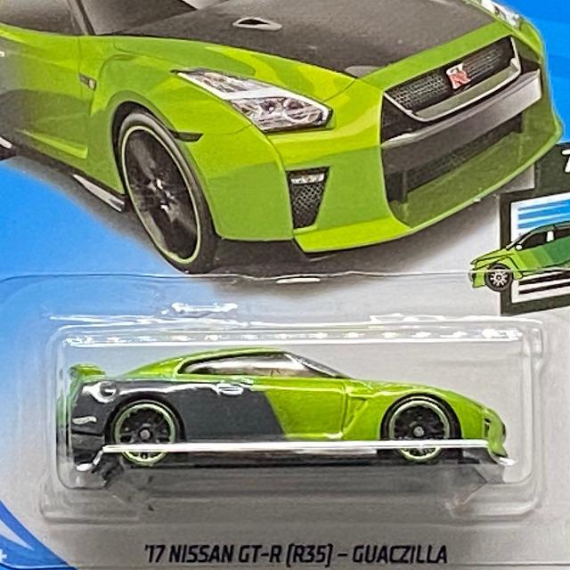 2019 Speed Blur / '17 Nissan GT-R R35 Guaczilla / '17 ニッサン GT-R R35 グアックジラ