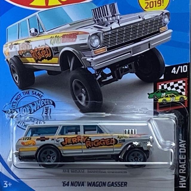 2019 HW Race Day / 64 Nova Wagon Gasser / 64 ノヴァ ワゴン ギャッサー