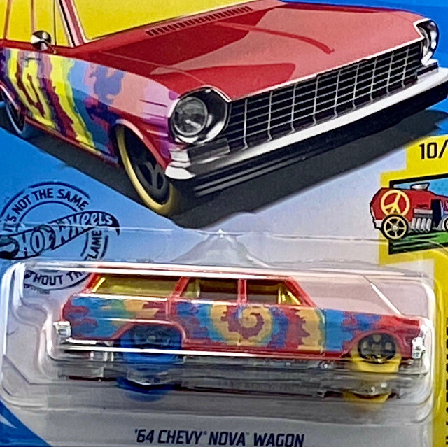 2019 HW Art Cars / '64 Chevy Nova Wagon / '64 シェビー ノヴァ ワゴン