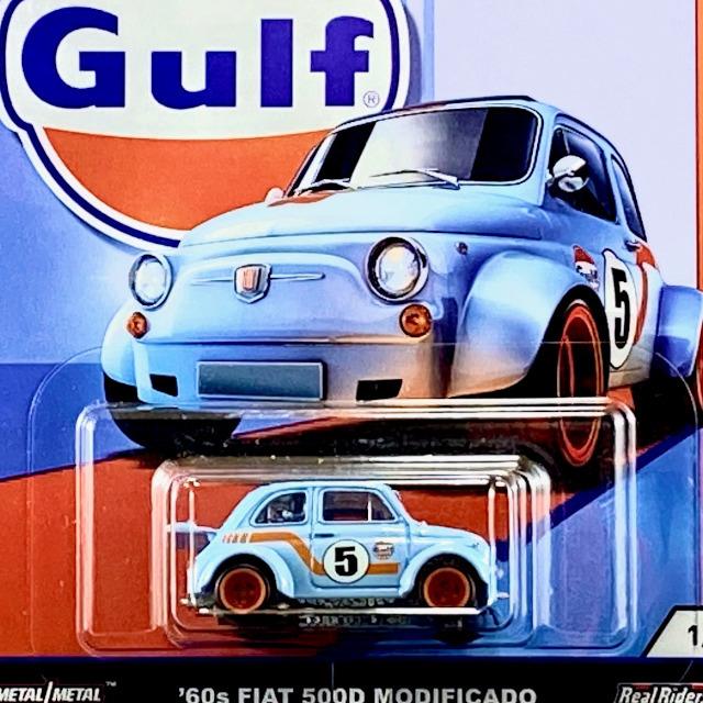 2019 Car Culture - Gulf Racing / '60s Fiat 500D