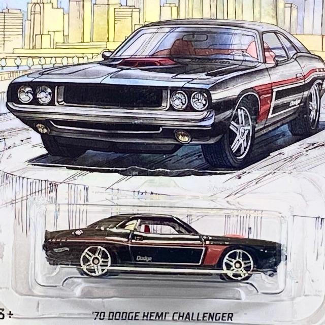 2019 Detroit Muscle / '70 Dodge HEMI Challenger / '70 ダッジ ヘミ チャレンジャー 【Walmart Exclusive】