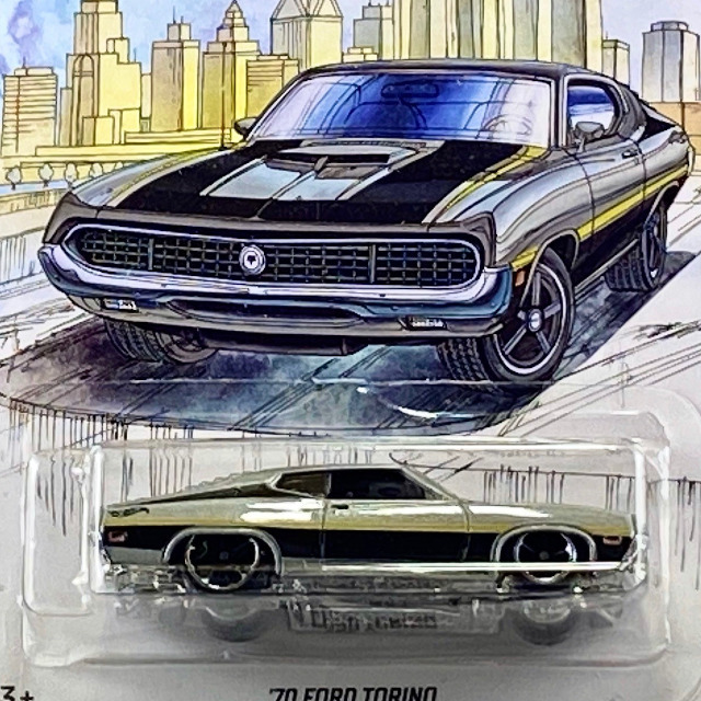 2019 Detroit Muscle / '70 Ford Torino / '70 フォード トリノ 【Walmart Exclusive】