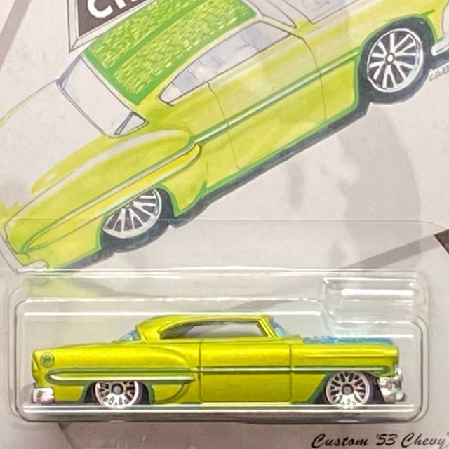 2019 Larry Wood 50 Years of Design / Custom '53 Chevy / カスタム'53シェビー【Walmart Exclusive】
