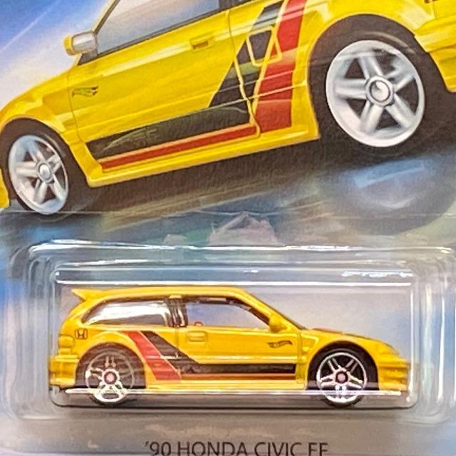 2018 Honda Series / '90 Honda Civic EF / '90ホンダ シビック EF