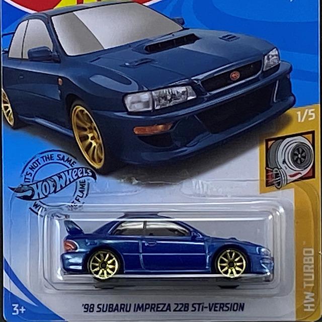 98 Subaru Impreza 22B Sti Version/'98 スバル インプレッサ 22B Sti バージョン