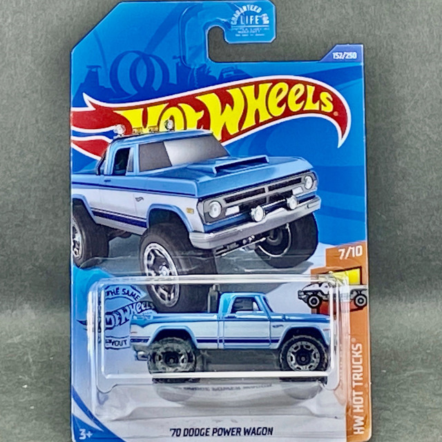 2020 Hot Trucks / '70 Dodge Power Wagon / '70 ダッジ パワー ワゴン