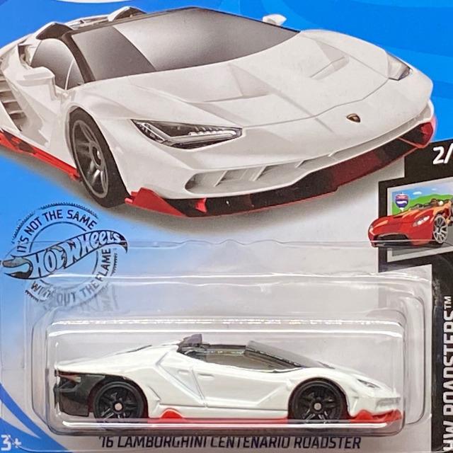 2020 HW Roadsters / '16 Lamborghini Centenario Roadster / '16 ランボルギーニ センテナリオ ロードスター