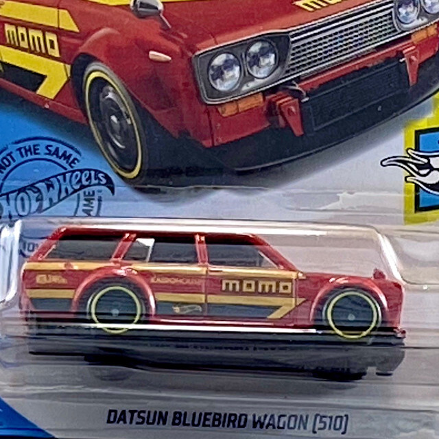 2020 HW Speed Graphics / Datsun Bluebird Wagon 510 / ダッツン ブルーバード ワゴン 510