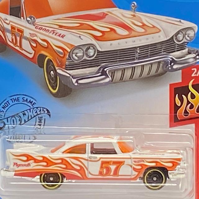 2020 HW Flames / '57 Plymouth Fury / '57 プリムスフューリー