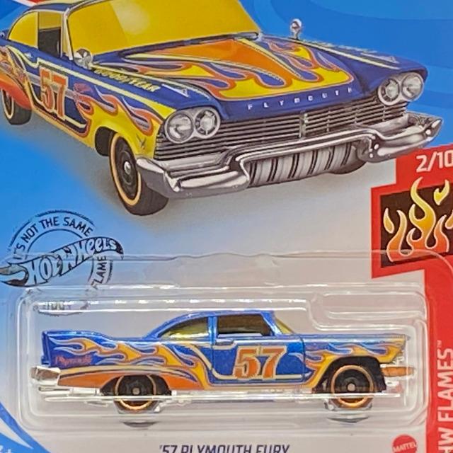 2020 HW Flames / '57 Plymouth Fury / '57 プリムス フューリー