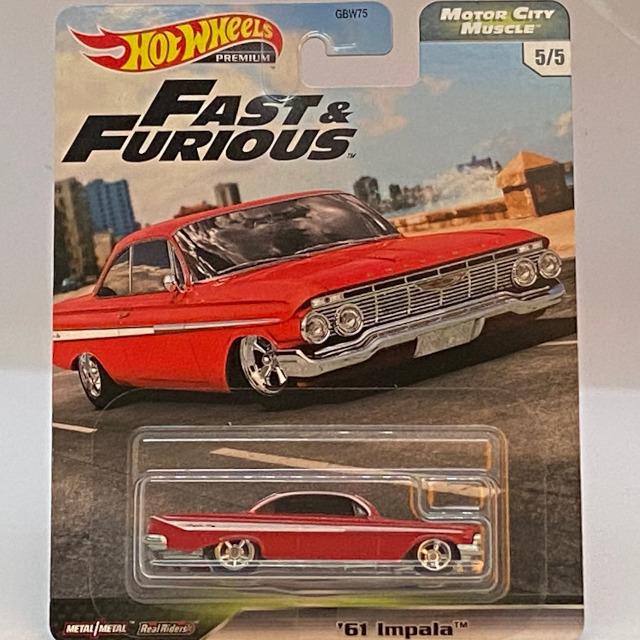 2020 Fast & Furious Motor City Muscle / '61 Impala / '61 インパラ