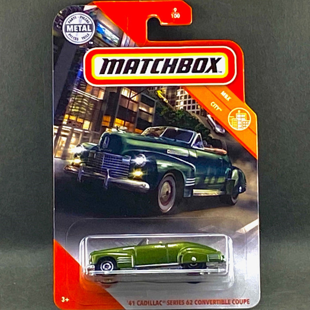 2020 MBX City/'41 Cadillac Series 62 Convertible Coupe / '41 キャデラック シリーズ 62 コンバーチブル クーペ