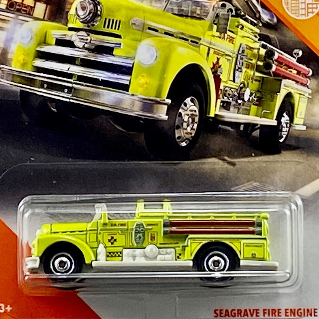 2020 MBX City/Seagrave Fire Engine / シーグレイブ ファイヤーエンジン