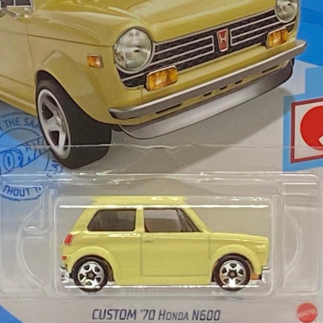 2021 HW J-Imports / Custom '70 Honda N600 / カスタム '70 ホンダ N600