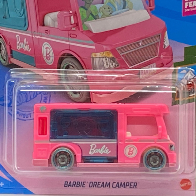 2021 HW Getaways / Barbie Dream Camper / バブル ドリーム キャンパー