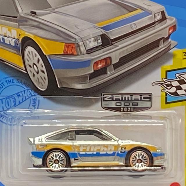 2021 HW Speed Graphics / 1985 Honda CR-X / 1985 ホンダ CR-X【 Walmart Exclusive】