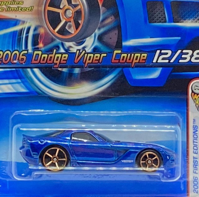 2006 First Editions / 2006 Dodge Viper Coupe / 2006 ダッジ バイパー クーペ