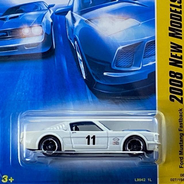 2008 HW New Models / Ford Mustang Fastback / フォード マスタング ファストバック