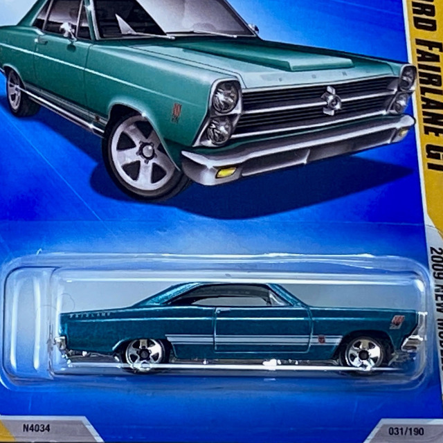 2009 HW New Models / 66 Ford Fairlane GT / 66 フォード フェアレーン GT