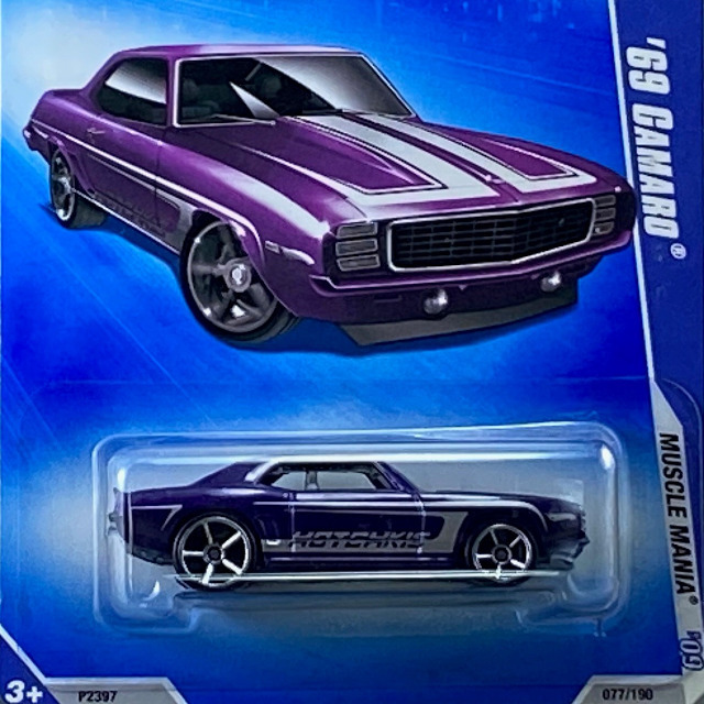 2009 HW Muscle Mania / 69 Camaro / 69 カマロ