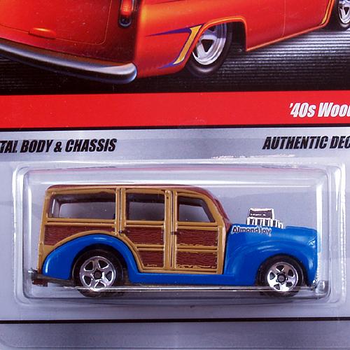 Sweet Rides / '40 Woodie (Blue)