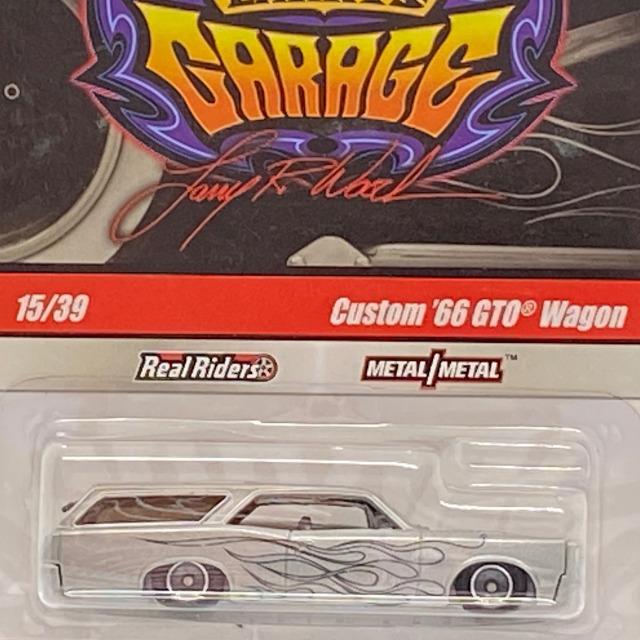 2010 HW Garage Series / Custom '66 GTO Wagon / カスタム '66 GTO ワゴン