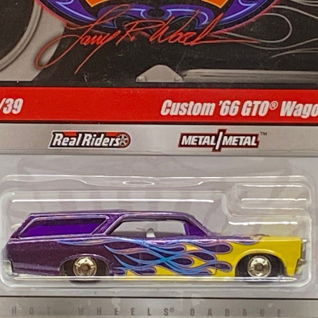 2010 HW Garage / Custom '66 GTO Wagon / カスタム '66 GTO ワゴン