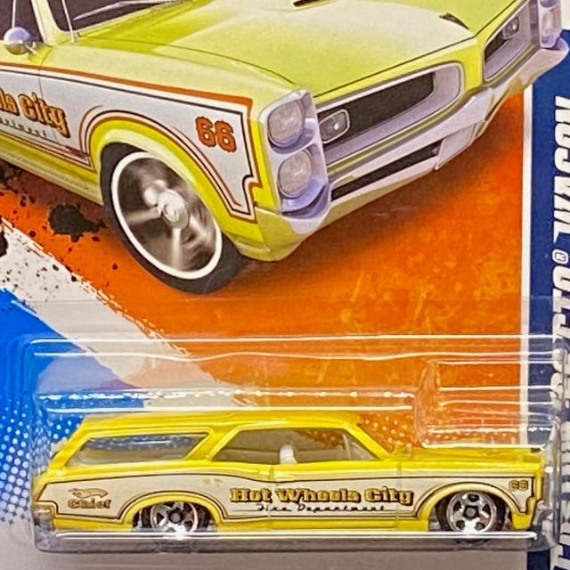 2010 HW City Works / Custom '66 GTO Wagon / カスタム '66 GTO ワゴン