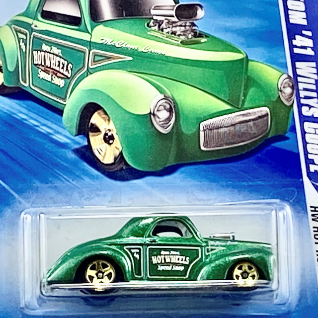 2010 Hot Rods / Custom '41 Willys Coupe / カスタム '41 ウイリースクーペ 【Kmart Exclusive】