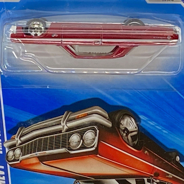 2010 HW Hot Auction / '64 Chevy Impala / '64  シェビー インパラ