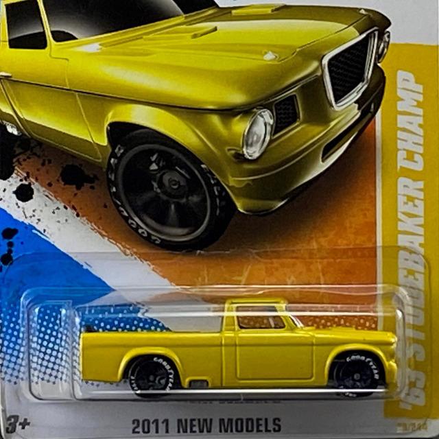 2011 HW Mainline / 63 Studebaker Champ / 63 スチュードベーカー チャンプ