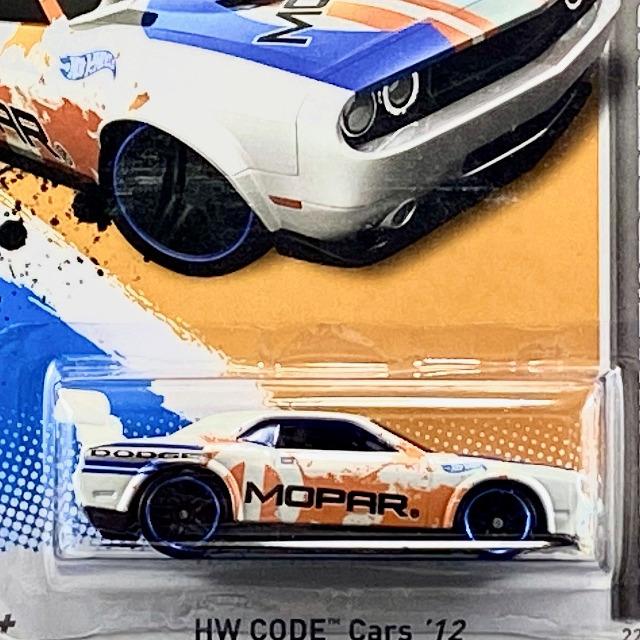 2012 HW Code Cars / Dodge Challenger Drift Car / ダッジ チャレンジャー ドリフト カー