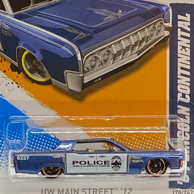 2012 HW Main Street / '64 Lincoln Continental / '64 リンカーン コンチネンタル